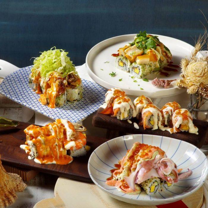 華山町餐酒館大玩創意「火山卷料理」好食爆發新上市
