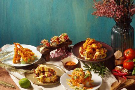 天成文旅-華山町 叁四町餐廳-火山捲料理