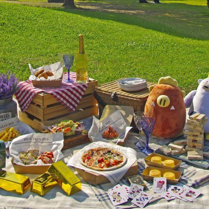 華山町餐酒館野餐趣 看準市場搶攻外送商機 華山町市集周末熱鬧登場!