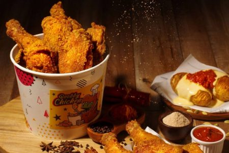 天成文旅華山町餐酒館寶比炸雞分享餐
