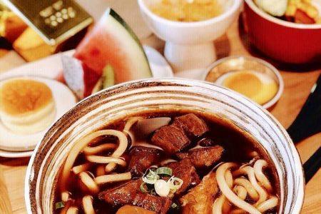 天成文旅-華山町餐酒館 商業午餐 華山町半筋半肉牛肉麵