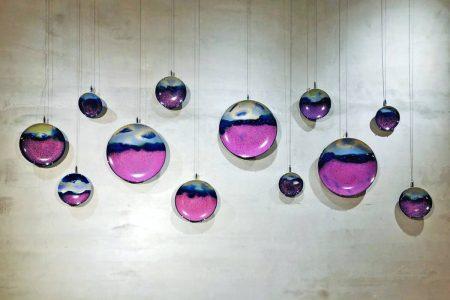 一組十件 紫薰圓盤 (2)