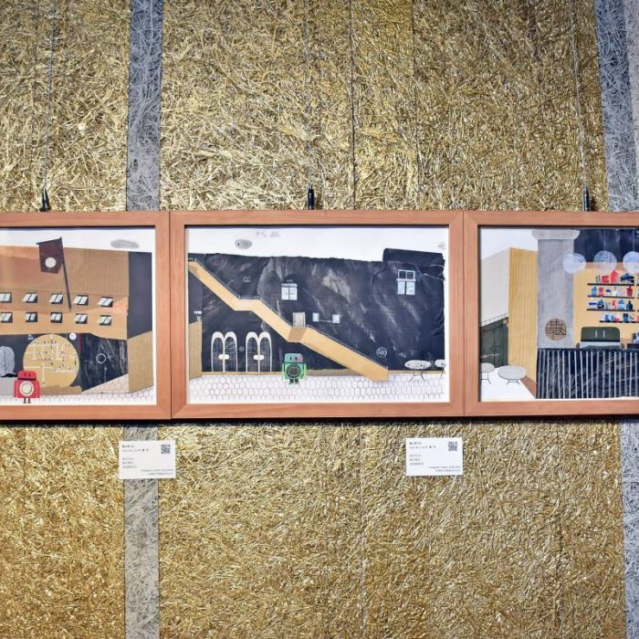 「藝」猶未盡 波隆那兒童插畫獎得主林廉恩《回家》複合拼貼飯店首展