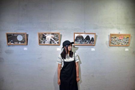 藝術展演_林廉恩《回家》複合拼貼創作展 (2)