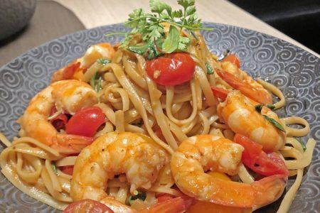 天成文旅-華山町 華山町餐酒館 鮮蝦蝦汁義大利麵