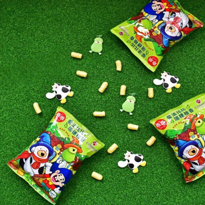 天成飯店集團與「乖乖」跨品牌合作 獨家口味「魔法比比瑞穗柚香乖乖」
