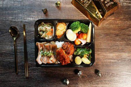 2021 天成飯店集團 星級美味便當 華山町便當_雙主菜便當(松阪豬 炸雞)