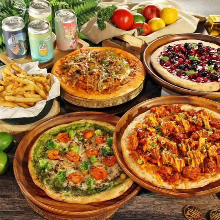 披薩歡樂住客房餐飲住房專案 精緻客房含早1,999元起再贈披薩組合餐