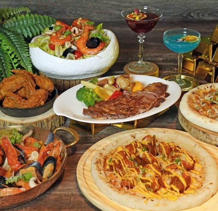 華山町餐酒館推「披薩嘉年華內用活動」,於餐廳內用餐單點任一款披薩,當桌四人消費即享77折優惠
